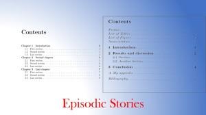 Episodic Stories